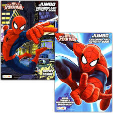 To print out your spiderman coloring page, just click on the image you want to view and print the larger picture on the next page. Amazon Com Spider Man Coloring Activity Book Set 2 Books 96 Pgs Each By Marvel Comics Toys Games