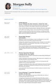 Artistic Director Resume Example Artist Resume Sample