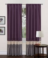 Next Bedroom Curtains Gray Purple Mia Curtain Panel Set Of Two Wants These For My