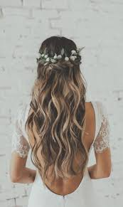 Tresse Cheveux Long Mariage Coiffure Epi Ble College Findorg
