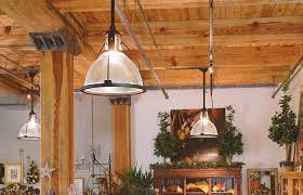 vintage originals lighting portfolio large vintage holophane pendants lighting retail space image