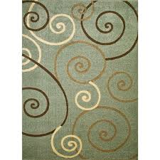 concord global trading chester scroll blue 8 ft x 11 ft area rug