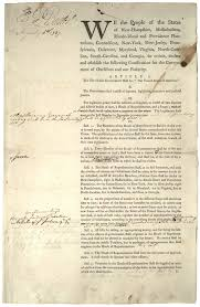 two versions of the preamble to the constitution ap us  constitution printing of first draft committee of detail 6