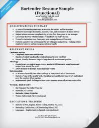qualifications summary resumes qualifications on a resume musiccityspiritsandcocktail com