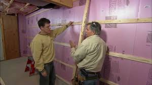 How To Frame Out Basement Walls This Old House YouTube - Finish basement walls
