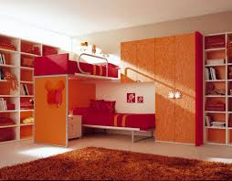 Pink And Orange Bedroom Fetching Image Of Girl Bedroom Decoration Using White Metal Pink
