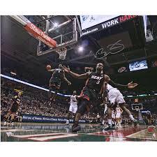 Autographed Miami Heat Dwyane Wade Fanatics Authentic 16'' x 20 ...