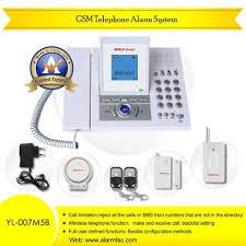 china wireless telephone home alarm system yl 007m5b china gsm alarm system wireless home alarm