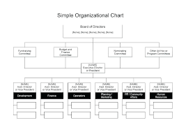 board of directors organizational chart template. template Nonprofit Organizational Flow Chart Template Non Profit
