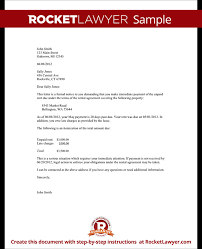 Free Eviction Notices Templates Late Rent Payment Letter Template