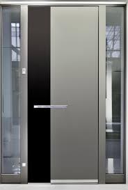 Large Contemporary Metal Door