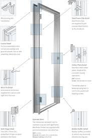 exterior door jamb detail. Standard Exterior Door Jamb Width \u2022 Doors Ideas Drawing Of Construction Details Pivot Intended For Measurements 1600 X 2400 Detail