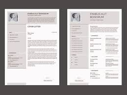 Resume And Cover Letter Templates Free Free Resume Cover Letter Design Template 2018 By Imran