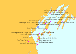Falmouth Foreside Maine Tide Chart