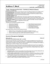 Management Resume Sample Healthcare Industry Marketing Plan For