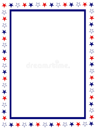 girly borders for microsoft word patriotic border stock vector illustration of illustration 8437483