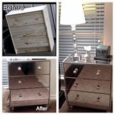 mirrored furniture ikea. Ikea Hack. Mirrored Nightstands Made From Rast Chest Furniture O