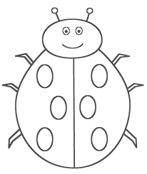 Small Picture Lady Bug Coloring Page Printable Ladybug Coloring Pages Coloring