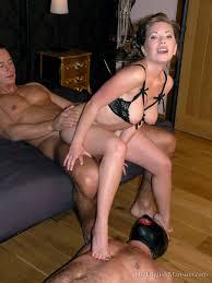 Cuckold femdom creampie humiliation