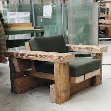 piet hein eek beam armchair with cushions 2016 photo nob ruijgrok