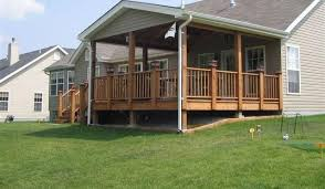 covered decks with roofs deck design