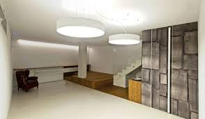image of basement lighting ideas low ceiling round