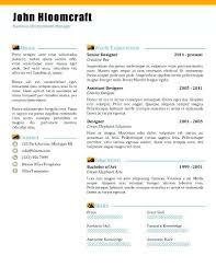 Modern Column Resume Contemporary Resume Template Modern Day Cv Templates Neerja Co