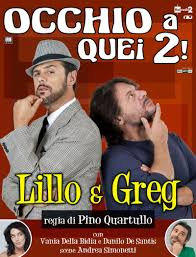 DVD - Lillo e Greg 'Occhio a quei 2!' - LilloeGreg.it