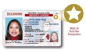 Driver's Illinois Ids Real com Id-compliant Ready To Issue Saukvalley Licenses