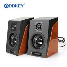 speakers with subwoofer. addkey 2pcs new creative mini subwoofer restoring ancient ways desktop small computer pc speakers with usb w