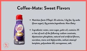 48 assorted coffee cream creamer singles set, delicious coffee mate liquid coffee creamer, international delight mini coffee creamer 6 flavor assortment (48 pack) 4.4 out of 5 stars 137 $16.99 $ 16. 7 Best Coffee Creamers For Weight Loss Plus 3 To Avoid Fitbod