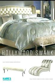 Hollywood Swank Bed Silver Hollywood Swank Bedroom Furniture ...