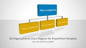 3d Organizational Chart For Powerpoint Slidemodel