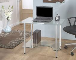 17 Interesting Frosted Glass Computer Desk Images Ideas Fabulous Small  Glass Desk