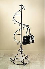 Coat Bag Rack Amazon 100 Hook Spiral Coat Hanger Bag Display Garment Rack 13