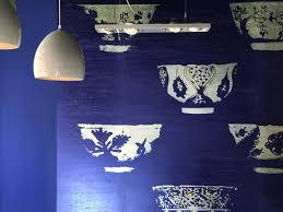 Prachtig Kobalt Blauw Behang Van Elitis Warm Sfeervol Thuis