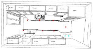 kitchen lighting layout. Kitchen Lighting Layout