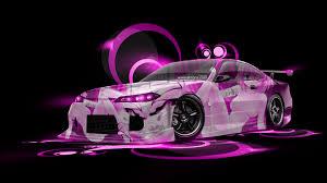 nissan silvia s jdm anime aerography car