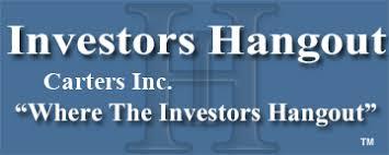 Carters Inc Cri Stock Message Board Carters Inc Investors Hangout