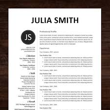 Professional Resume Template Free Best Professional Resume In Word Format