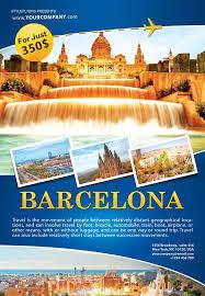 Barcelona Travel Brochure Renanlopes Me