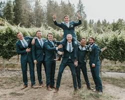 Modern Romantic Karma Vineyards Wedding in Shades of Blue | Junebug  Weddings in 2020 | Vineyard wedding, Junebug weddings, Wedding suits