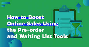 Blue Green Online How To Use Pre Order And Waiting List Tools Belvg Blog