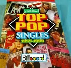 Details About Billboard Top Pop Singles 1955 To 1999 Book By Joel Whitburn