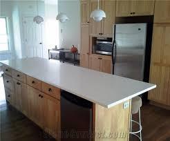 3cm arctic white from q quartz kitchen countertop