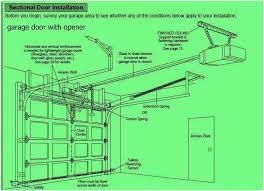 sectional garage doors installation comfortable garage door opener installation instructions garage on your home