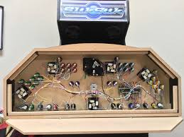 4 Player Arcade Cabinet Kit 4 Player Mame Cabinet Control Panel With Spinner Trackball And