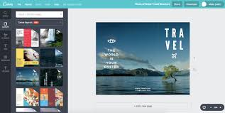 How To Make Travel Brochure Design Travel Brochure For Any Location For Free With Canva