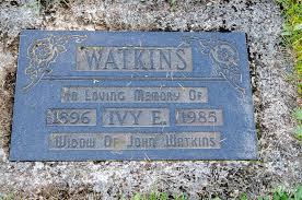 Ivy Eveleen Henry Watkins (1896-1985) - Find A Grave Memorial