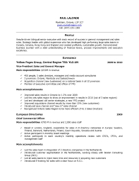Example Of Canadian Resume Resume Examples Canada The Best Resume 3